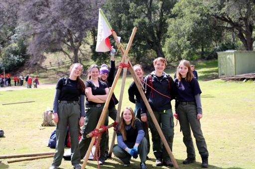 Female Scout Troop Wins Competition and Makes History