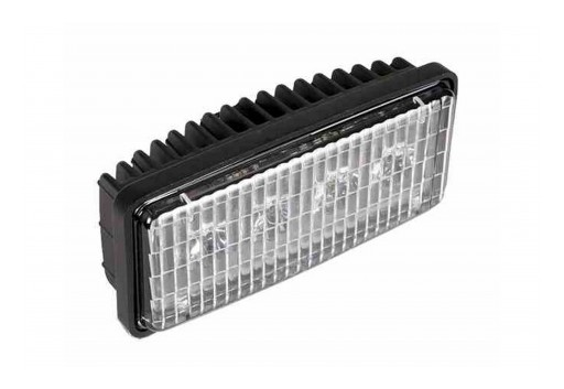 "Larson Electronics Releases 30W LED Hood/Grill Light, 5""x2"" Installation Holes, 12-24V DC"