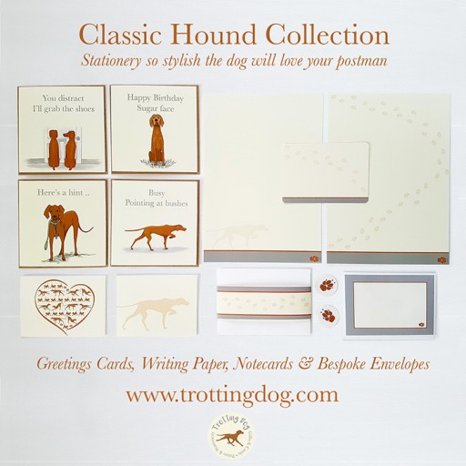 Trotting Dog Launches a Debut Stationery Collection So Stylish Even the Dog Will Love the Postman