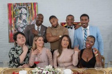 """Cast of """"8 At The Table"""" for Season 2/Table 3"""