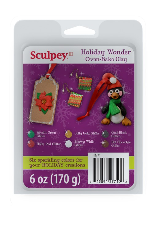 Polyform Products Inc. Limited Edition Sculpey III Holiday Wonder Clay Set