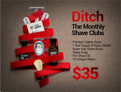 Safety Razor Shave Club Continues Its Mission to Help Consumers Ditch the Monthly Shave Clubs