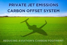 Private Jet Emissions Carbon Offset System