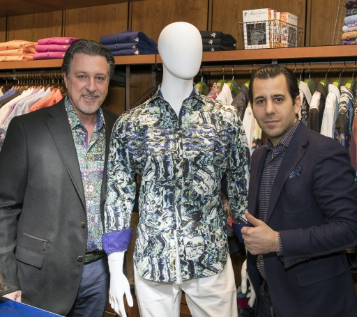 The Batman Inspired Limited Edition Dress Shirt: 'The Cassata' by Robert Graham Designer Clothing