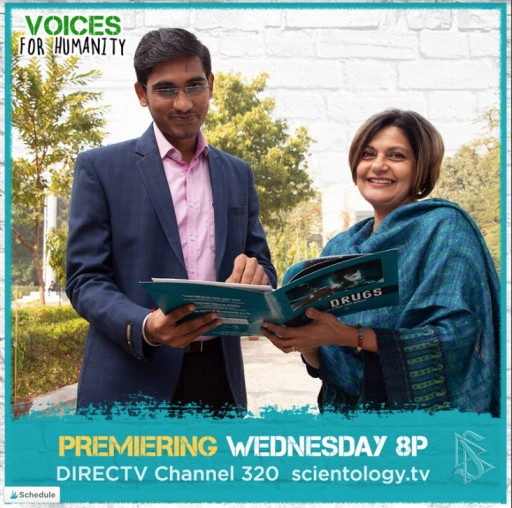VOICES FOR HUMANITY Takes on India's Drug Culture With Vasu Yajnik-Setia