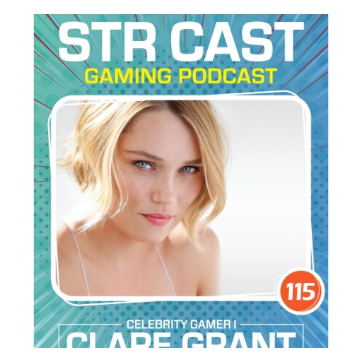 Strength in Gaming Video Game Podcast Recently Featured Celebrity Clare Grant