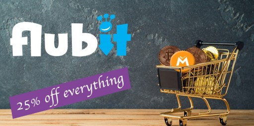 Flubit.com Announces 25 Percent Off All Stock in Massive Online Sale