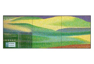 TouchSource Video Wall Featuring 'Grassland #78' by Kenneth Ober, Inglewood, California