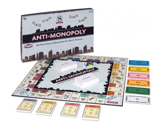 Board Game Maker Anti-Monopoly Inc. Names New Executive Team