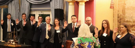 Caitlin Szematowicz Sworn in as President of the Barney Masterson American Inn of Court