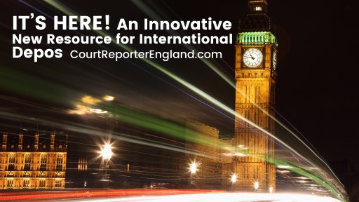 It's Here: Optima Juris Launches an Innovative New Resource for International Depositions, courtreporterengland.com