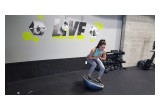 BOSU Squat Hold Side to Side Movements