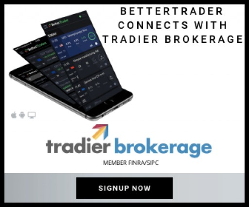 BetterTrader is Now Connected to Tradier Brokerage