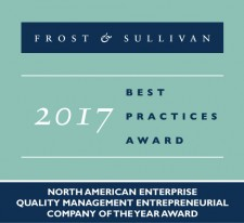 Frost & Sullivan 2017 Best Practices Award to ComplianceQuest