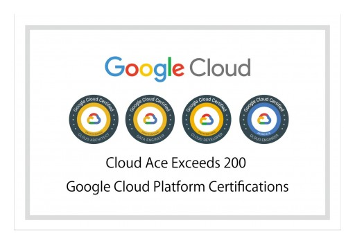 Cloud Ace Surpasses 200 Google Cloud Certifications