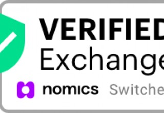 Nomics.com Verified Exchange Switcheo Badge - White