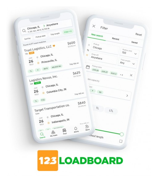 123Loadboard Redesigns Load Board Mobile App Using React Native for Advanced Performance and Stability