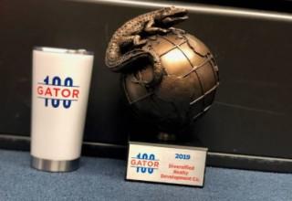 Diversified-Gator100 Award
