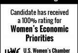 100% Rating - Women's Economic Priorities