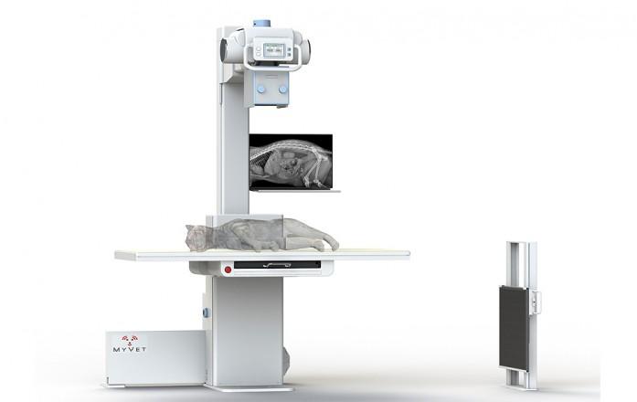 MyVet Imaging Elevating X-Ray Table