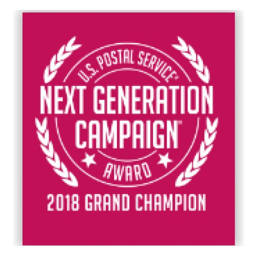 AccuZIP Crowned GRAND CHAMPION of Prestigious U.S. Postal Service® Next Generation Campaign Award™ (Formerly the Irresistible Mail Award®)