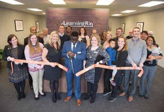 Ribbon Cutting for LearningRx Knoxville