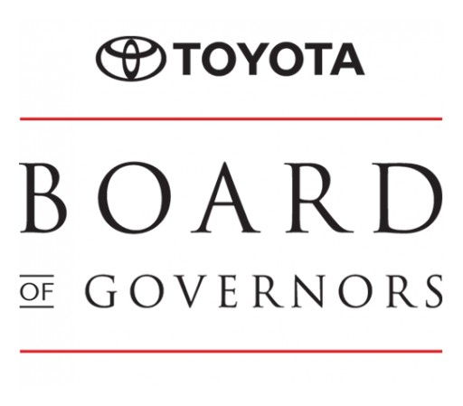 Kendall Toyota Named to Toyota Board of Governors