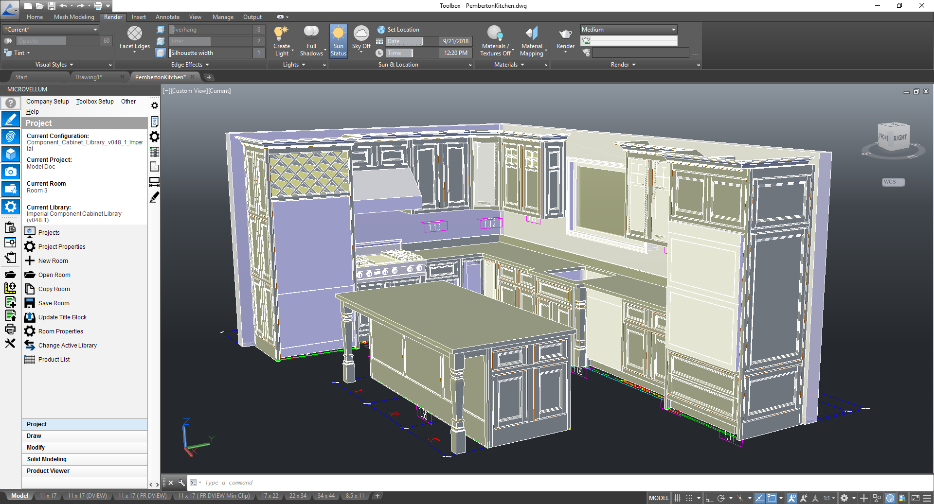 Microvellum Takes Cabinet Making To The Stratosphere With Tech Soft 3d And Autocad Oem Newswire