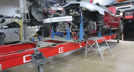 Autobody News: Celette Benches Help TX Shop Repair Vehicles Properly According to OEM Specifications