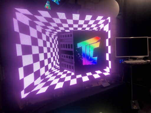 Motorized Video Tiles Create Surprise With Moving Video Displays From TLC Creative Technology