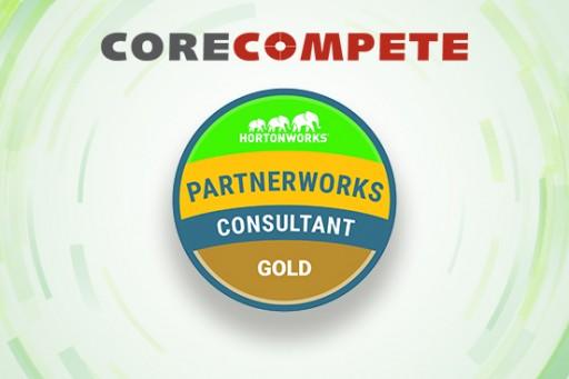 CoreCompete Achieves Gold Partner Status for Hortonworks