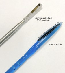 Conventional sharp ECC vs Soft ECC
