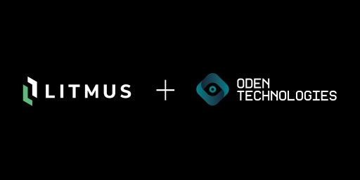 Litmus and Oden Partner to Offer Complete IIoT Solution for Smart Manufacturing