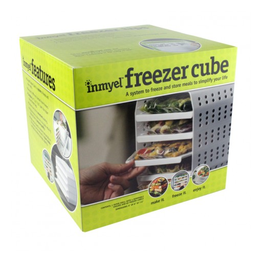The Inmyel Freezer Cube Helps Consumers to Cut Food Waste and Freeze Ready-to-Heat-and-Eat Meals