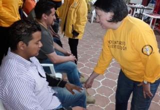 Volunteer Minister provides assist