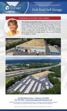 Delk Road Self Storage Closing Announcement