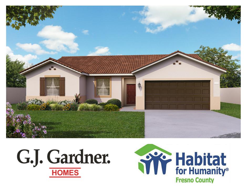 new home ground breaking for habitat for humanity & g.j. gardner