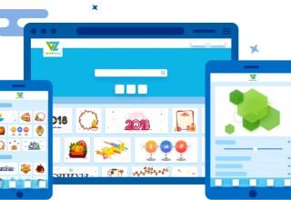 VectorZilla Flat Web & App