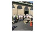 Union Carpenter Volunteers Taking a Pause