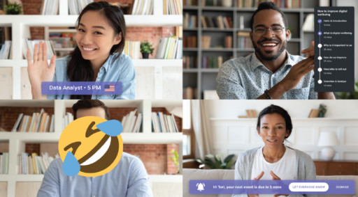 Browser Extension Tackles Video Meeting Fatigue Head on - With Mindfulness and Fun
