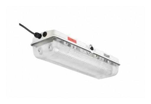 Larson Electronics Releases Explosion-Proof 30-Watt LED Emergency Light Fixture, ATEX/IECEx, 220V AC