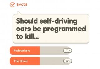 Vote should self driving cars kill?