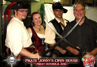 Pirate Jonny's Open House