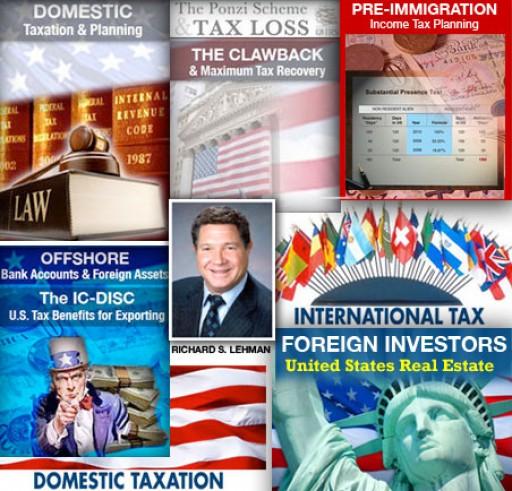 Tax Lawyer Richard S. Lehman, Esq., Offers Five Tax Webinars and Training on Relevant Tax Issues