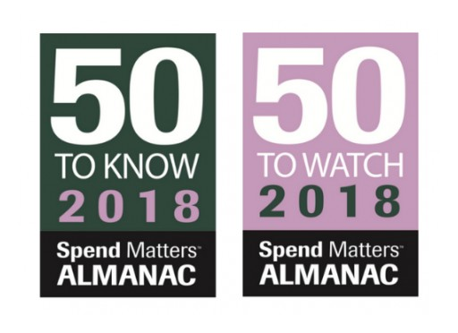 Proxima Named a 2018 Spend Matters Provider to Know for the 5th Year in a Row