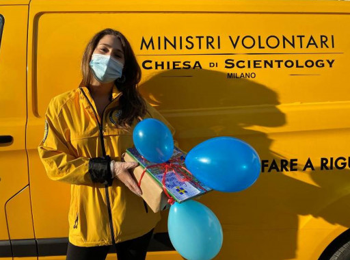 Milano Scientologists Reach Out to Help Vulnerable Neighbors