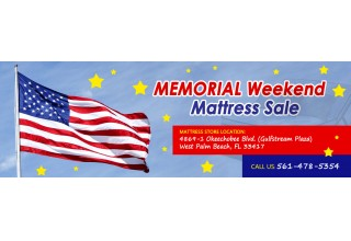 Memorial Day Sales on Quality Brand Mattresses