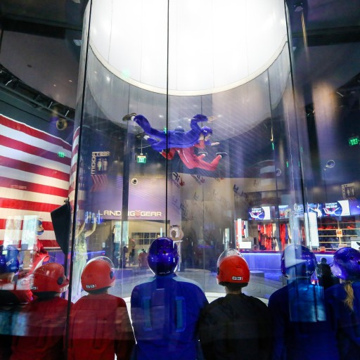 iFLY Oceanside Utilizes 'Smart Energy' the First Wind Tunnel Powered by TESLA