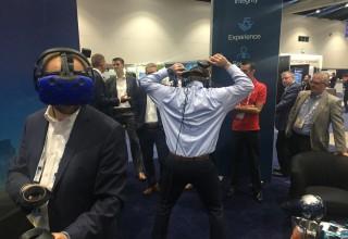 Maverick VR at convention
