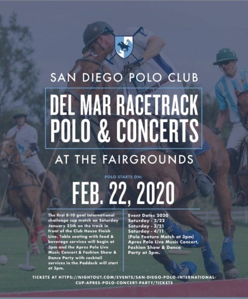 San Diego Polo Games & Concerts at the Del Mar Race Track